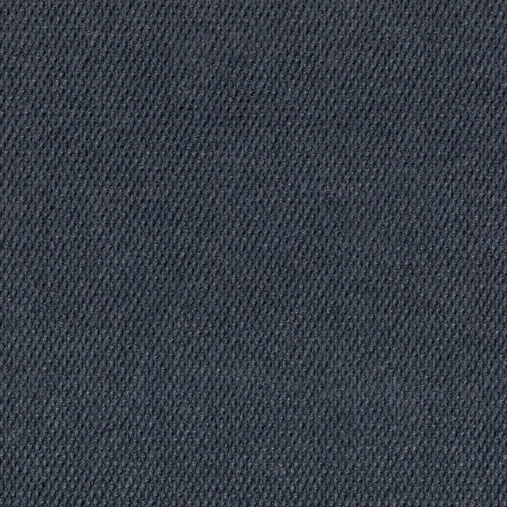 Premium Self-Stick Caserta Ocean Blue Hobnail Texture 18 in. x 18 in. Indoor/Outdoor Carpet Tile (10 Tiles/Case)