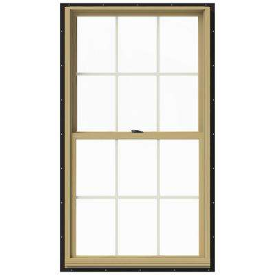 33.375 in. x 60 in. W-2500 Double Hung Aluminum Clad Wood Window
