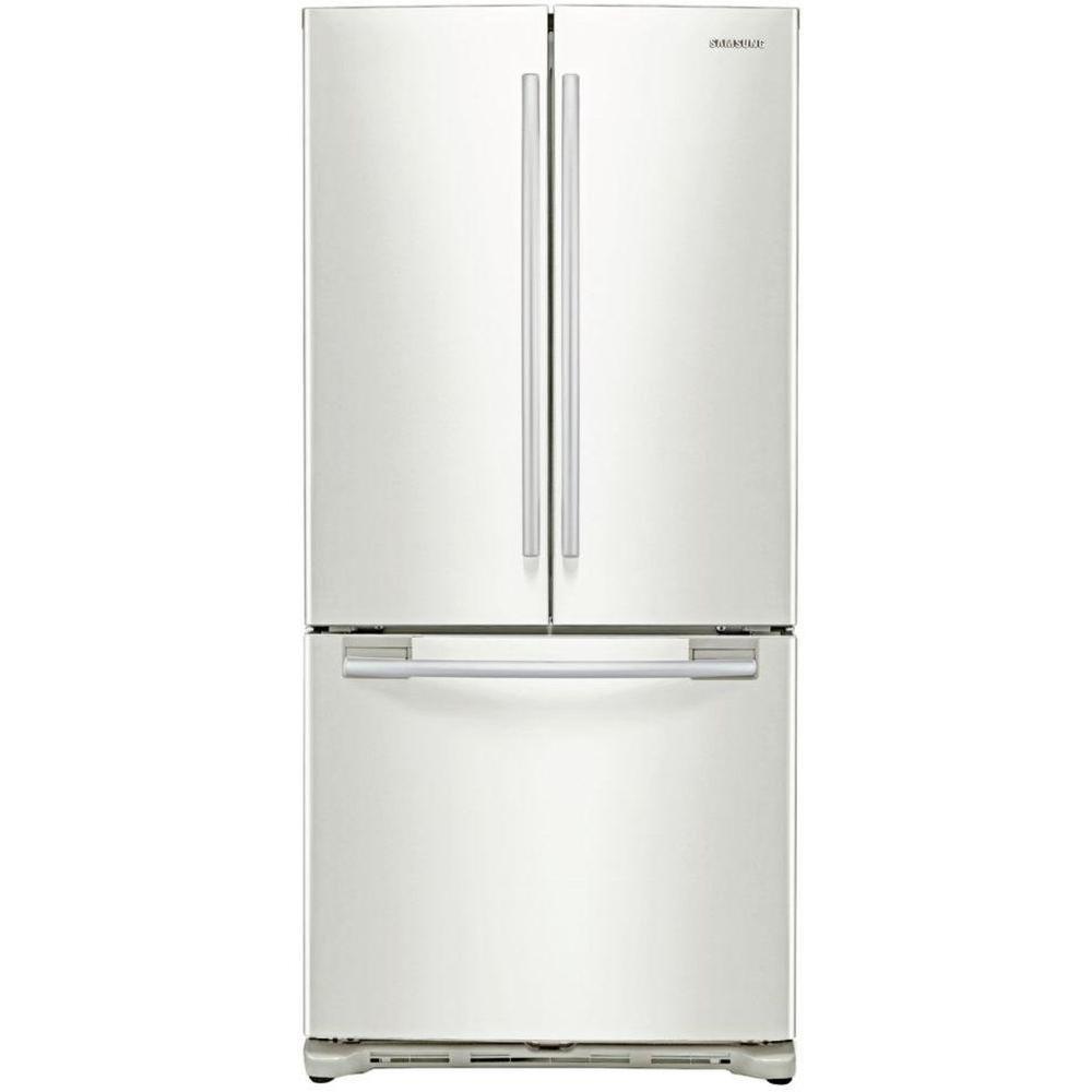 Samsung 17.8 cu. ft. French Door Refrigerator in White