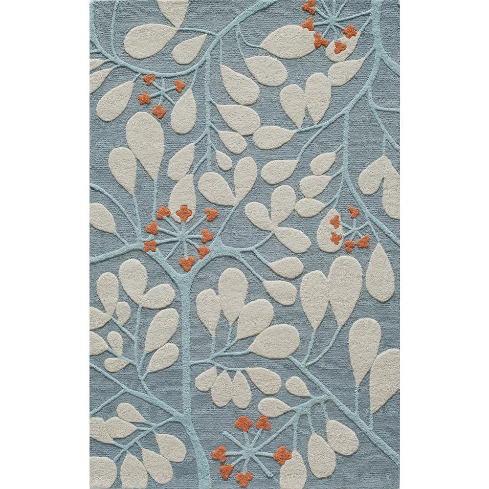 Home Decorators Collection Exeter Blue 5 Ft X 8 Ft Area