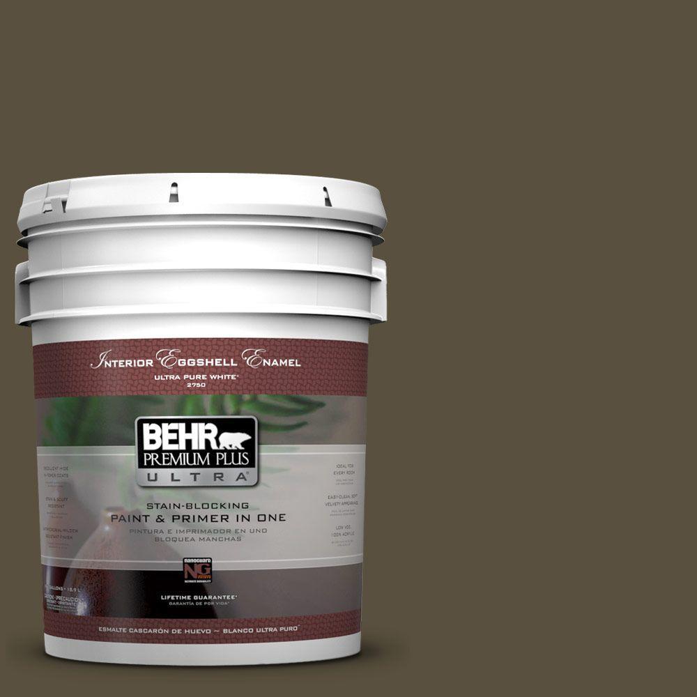 BEHR Premium Plus Ultra 5-gal. #S-H-730 Eagle Rock Eggshell Enamel Interior Paint