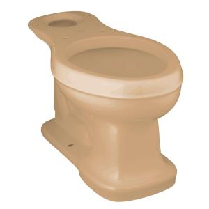 Kohler Bancroft Comfort Height Elongated Toilet Bowl Only in Mexican Sand by KOHLER