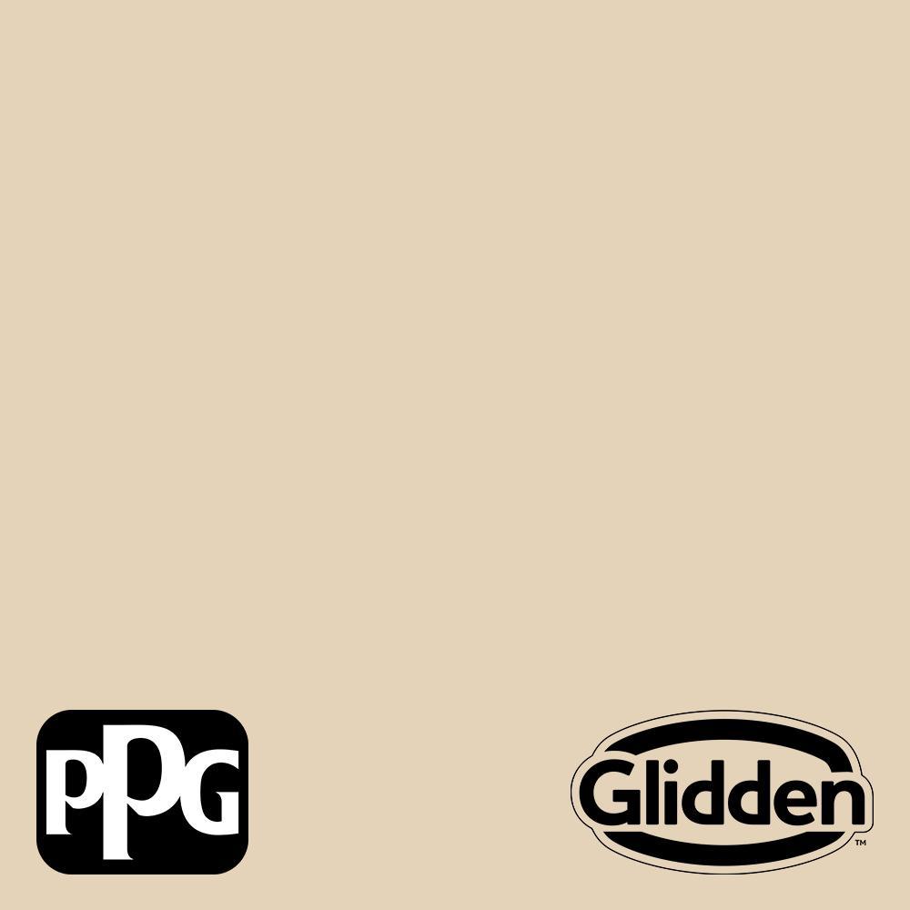 Glidden Premium 1 Gal Ppg1095 3 Almond Brittle Semi Gloss Exterior Latex Paint Ppg1095 3px 1sg The Home Depot