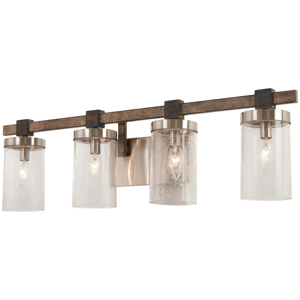 Bridlewood 4 Light Stone Grey With