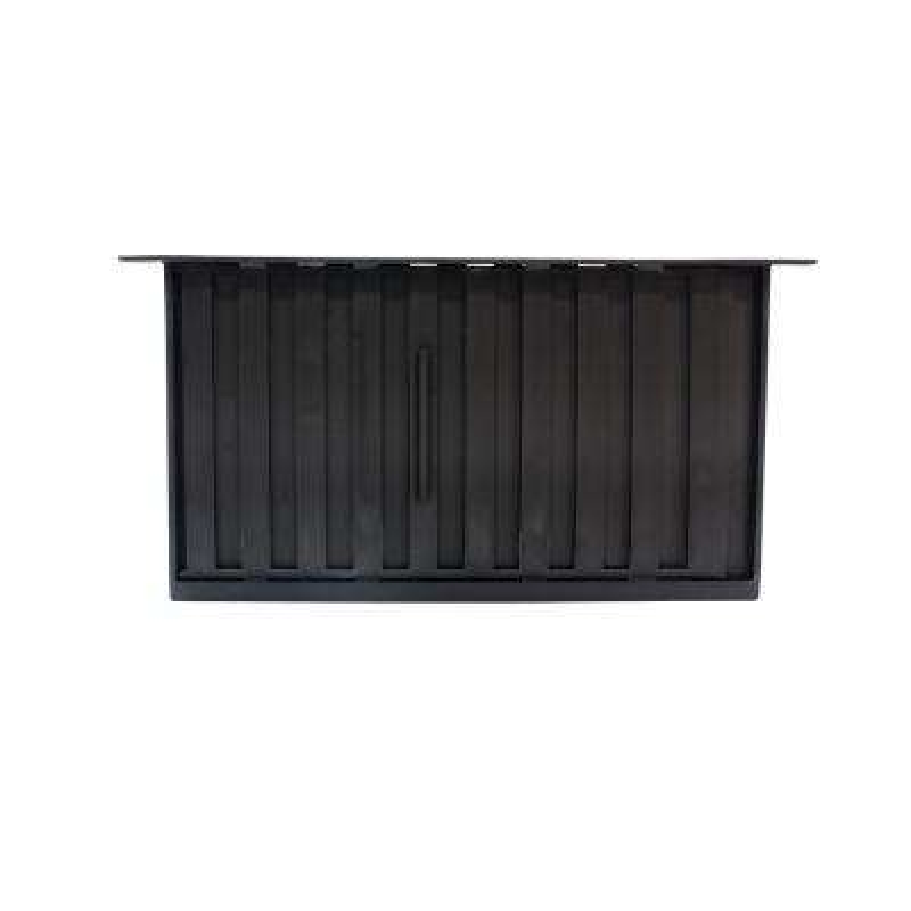 16 in. x 8 in. Jumbo Vent Slider in Black (Carton of 12)