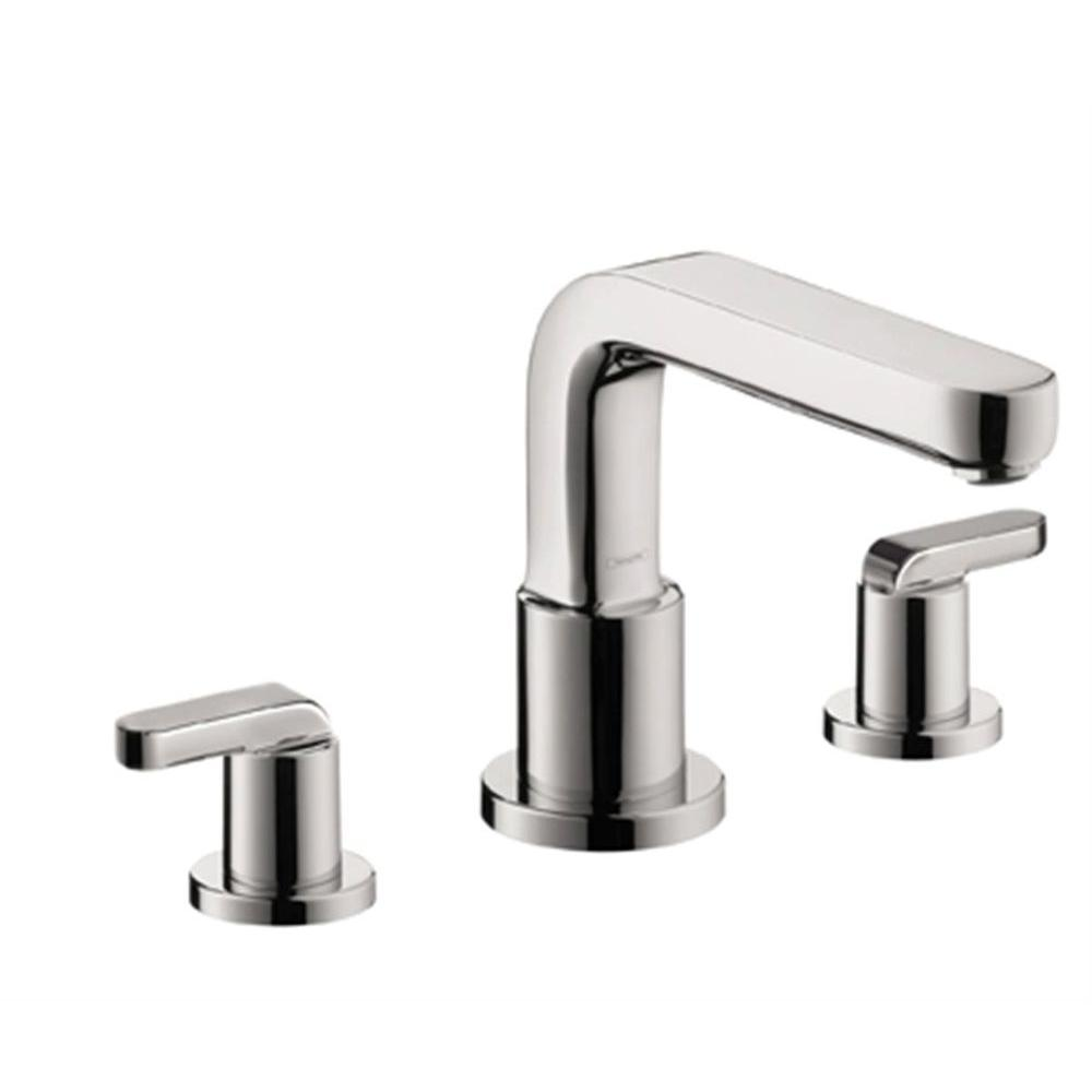 Metris S Lever 2-Handle Deck-Mount Roman Tub Faucet without Handshower in