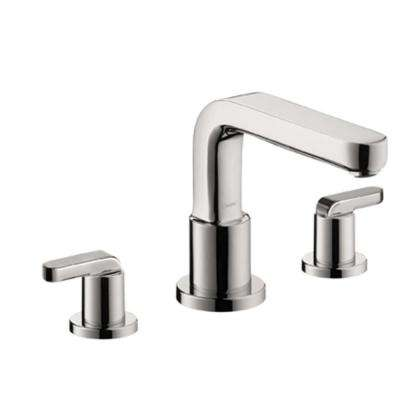 Metris S Lever 2-Handle Deck-Mount Roman Tub Faucet without Handshower in Chrome