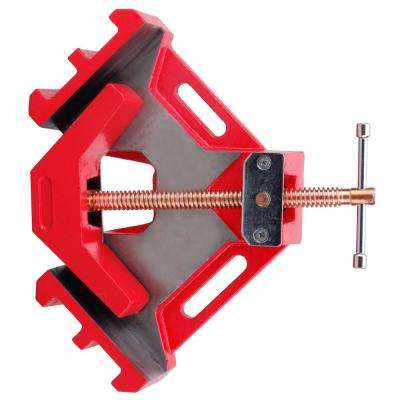 4 in  Capacity 90-Degree Industrial Welders 2-Axis Angle Clamps