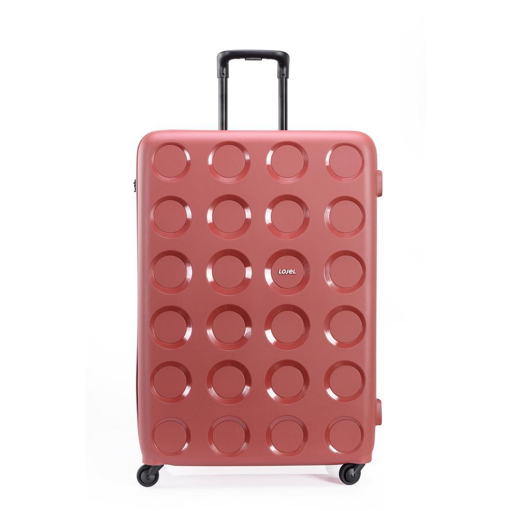 Vita 31.5 in. Marsala Red Hardside Spinner Suitcase