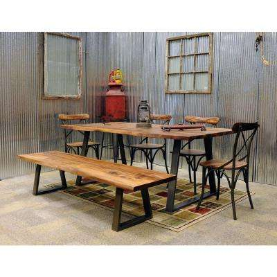 Charmant 6 Piece Rosewood Dining Set