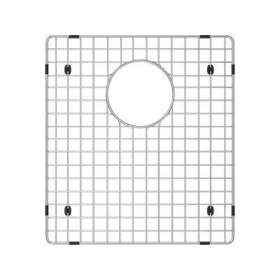 16 in. x 14.5 in. Sink Bottom Grid for Blanco in Stainless Steel