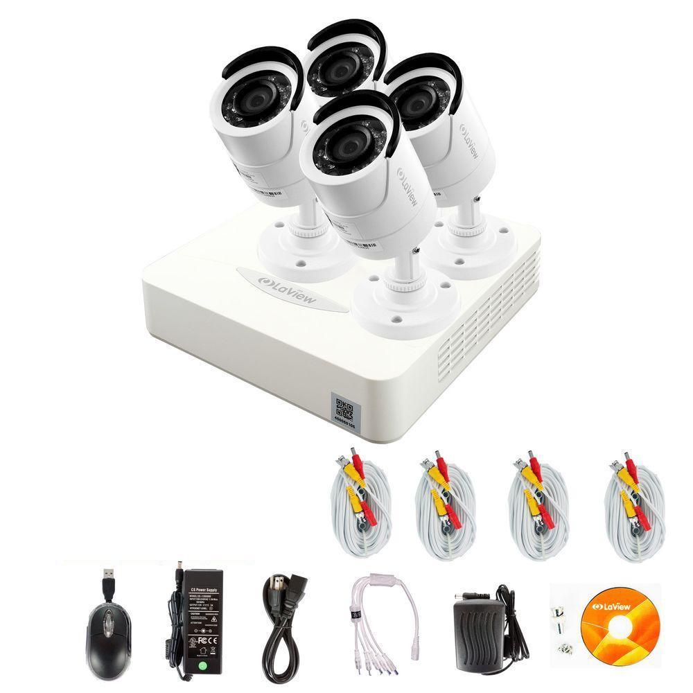 ProX 4-Channel 960H Surveillance System with 1TB Hard Dri...