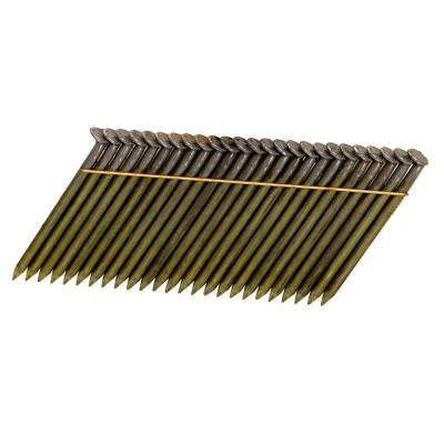 2-1/2 in. x 0.120 Gauge Wire-Weld Smooth Shank Framing Nails (2,000-Pack)