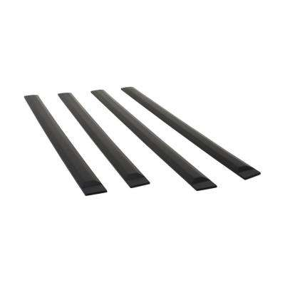 Crew Cab Front 45in Rear 34.5in Rugged Style Body Side Moldings (953474)