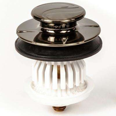 1-1/2 in. or 1-1/4 in. DrainEASY Universal Clog Preventing Bathtub Stopper/Strainer with 3/8 in. and 5/16 in. Fittings