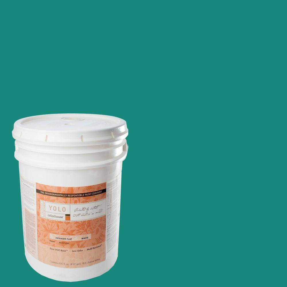 YOLO Colorhouse 5-gal. Dream .05 Flat Interior Paint-DISCONTINUED