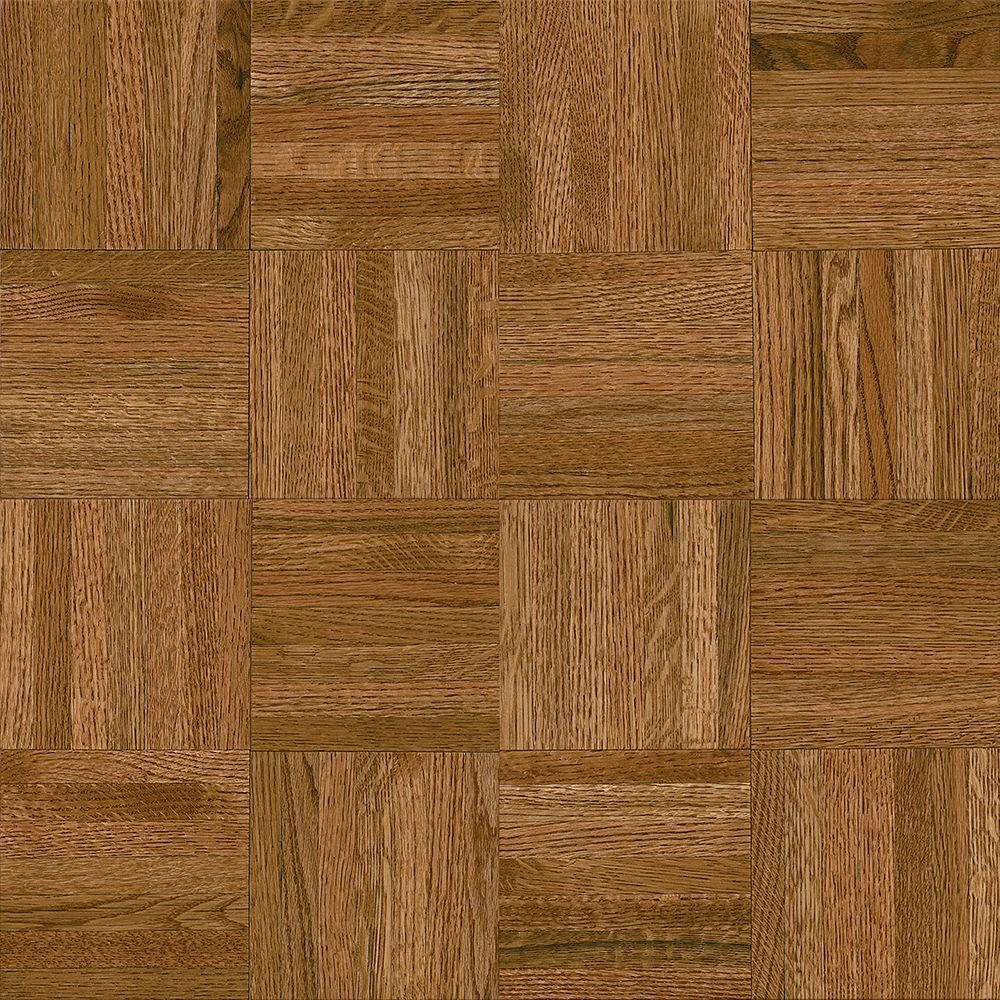 bruce butterscotch parquet 516 in thick x 12 in wide x 12 - Parquet Flooring