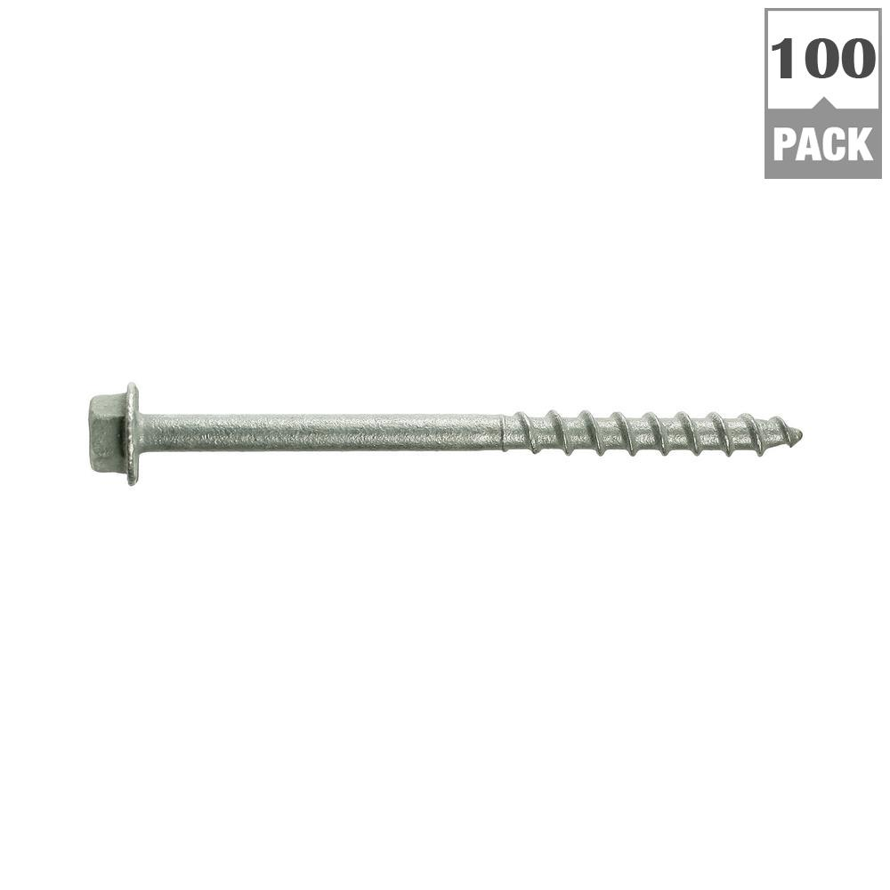 Simpson Strong-Tie Strong-Drive #9 x 2-1/2 in. SD Structural-Connector Screw (100-Pack)