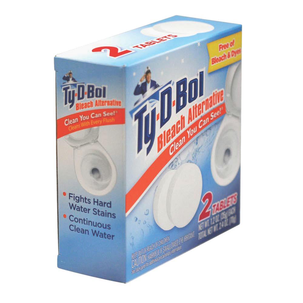 Ty-D-Bol 2.5 oz. Toilet Bowl Cleaner Tablet Bleach Alternative (6-Pack)