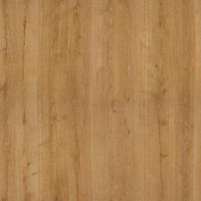 5 in. x 7 in. Laminate Countertop Sample in Planked Urban Oak with Natural Grain Finish