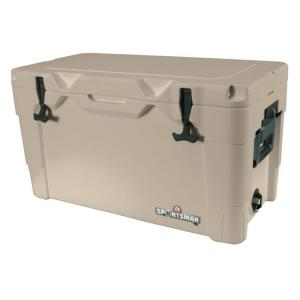 Click here to buy IGLOO Sportsman 70 Qt. Retractable Handles Cooler by IGLOO.
