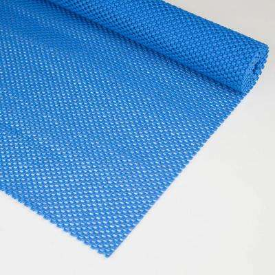 12 in. x 72 in. Blue Eco Non-Slip Surface Pad
