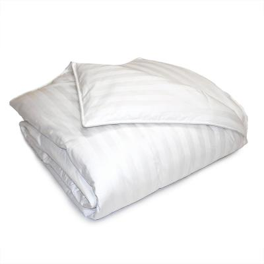 Year Round Warmth 350 Thread Count White Damask Twin Down Alternative Comforter