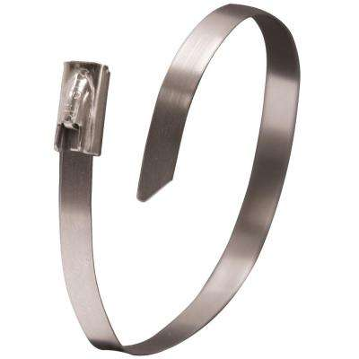 6 in. Cable Tie Stainless Steel (10-Pack) Case of 10