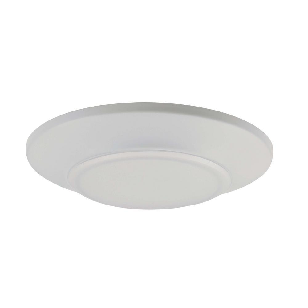 Maxim Lighting Diverse 5.75 in. White Integrated LED Flushmount Light