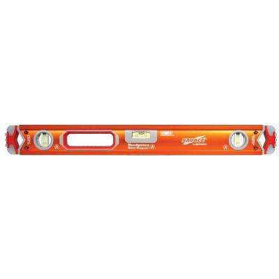 97 in. Magnetic Professional Box Beam Level with Gelshock End Caps