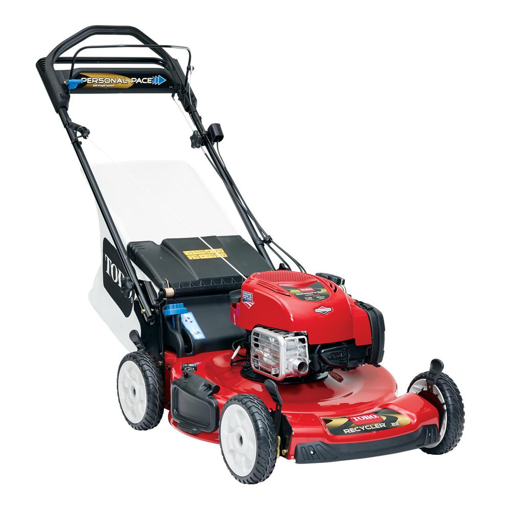 Toro Recycler 22 in. Personal Pace Variable Speed Gas Walk Behind Self Propelled Lawn Mower with Blade Stop System