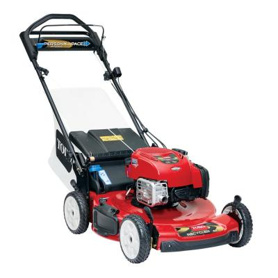 Recycler 22 in. Personal Pace Variable Speed Gas Walk Behind Self Propelled Lawn Mower with Blade Stop System