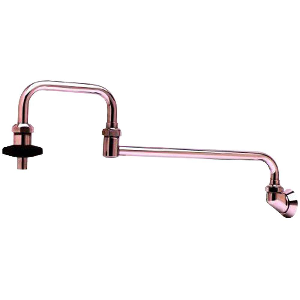 T&S Brass Wall Mounted Potfiller in Chrome