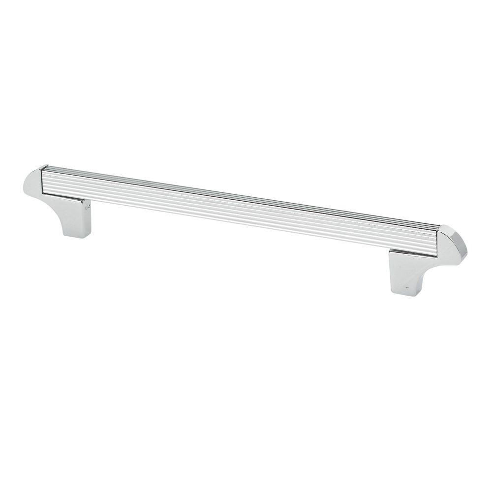 TOPEX Italian Designs Collection 8.25 In. Chrome Square Cabinet Pull