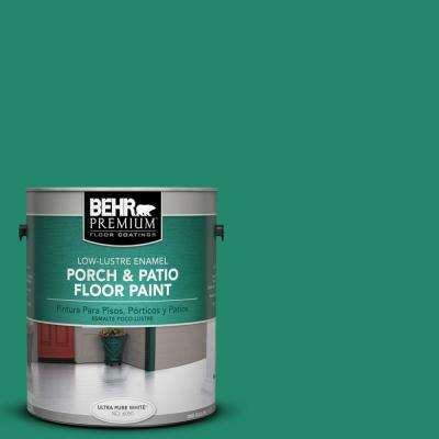 1 gal. #P430-6 Fairy Queen Low-Lustre Porch and Patio Floor Paint