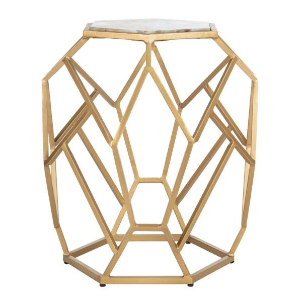 Safavieh Ava Multi/Gold End Table ACC3700A