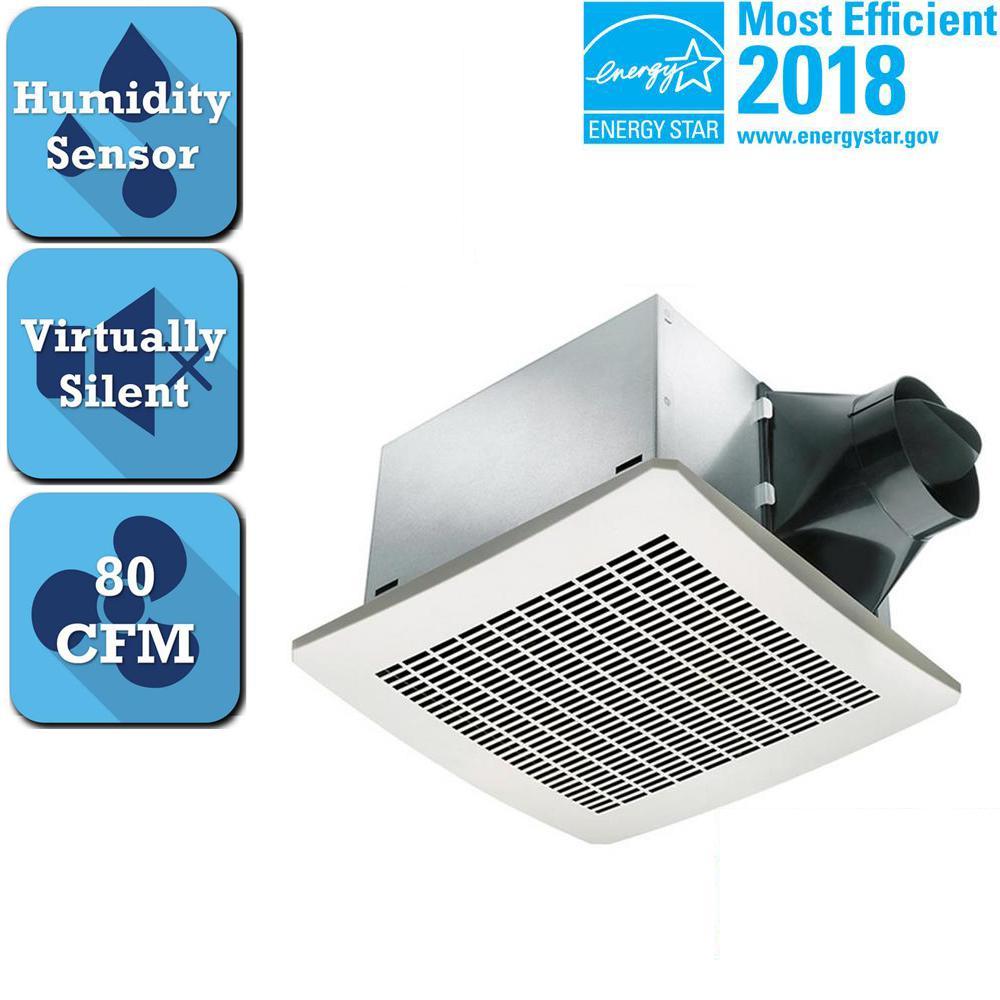 Delta Bathroom Fan Wiring Urban Home Interior Wiringexhaustfangif Breez Signature Series 80 Cfm Humidity Sensing Ceiling Rh Homedepot Com