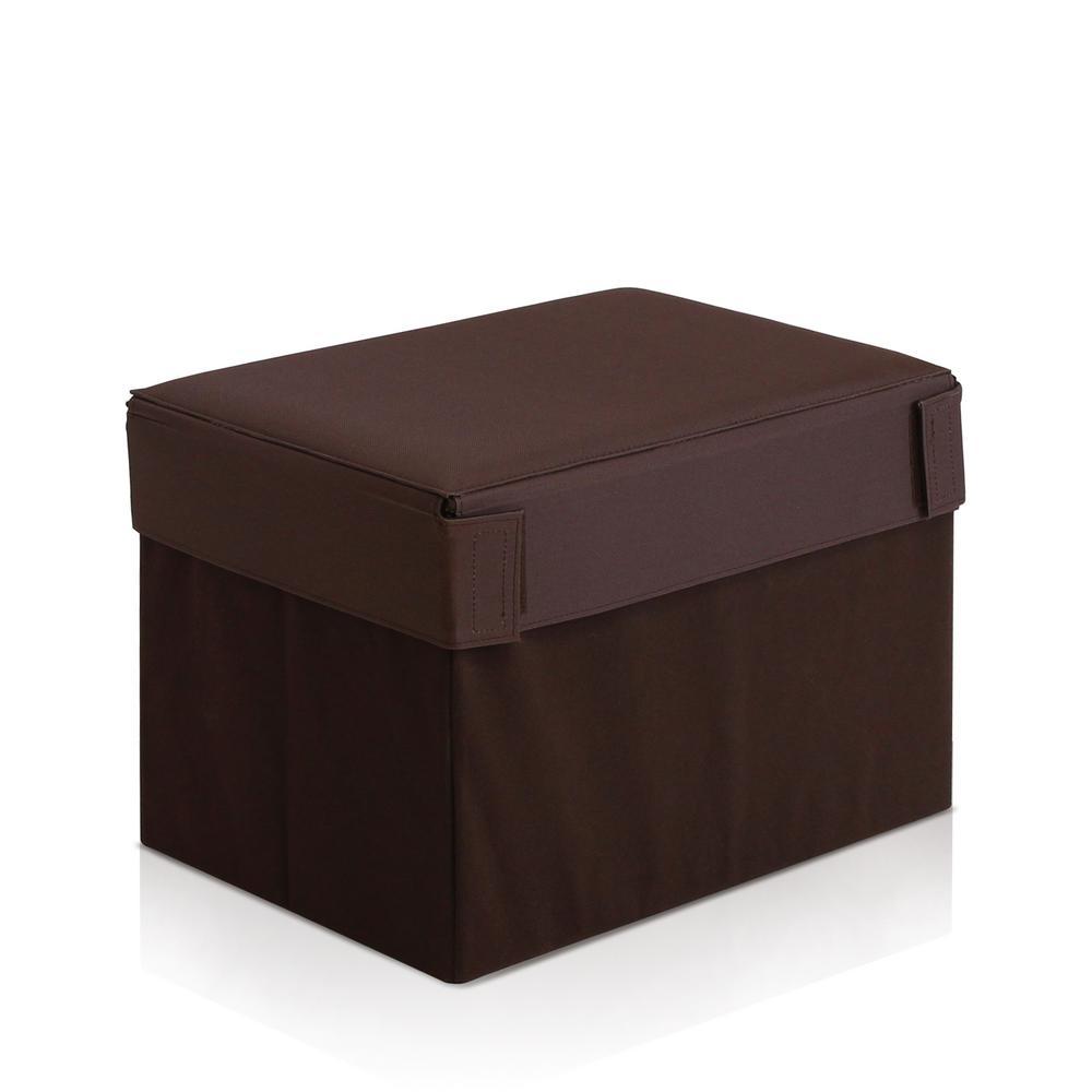 Oxford Expresso Rectangular Foldable Storage Stool Ottoman