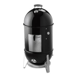 Weber 18-1/2 inch Smokey Mountain Cooker Smoker in Black with Cover and Built-In... by Weber