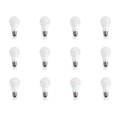 60-Watt Equivalent A19 E26 Base 800-Lumens LED Light Bulb Cool White (12-Pack)
