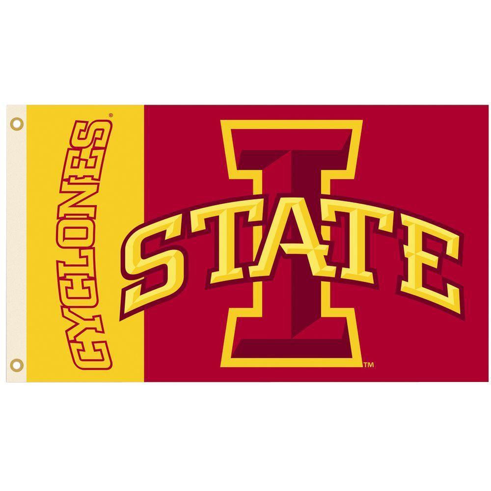 NCAA 3 ft. x 5 ft. Iowa State Flag