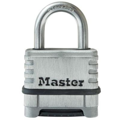 174SSD 2-1/4 in. Stainless Steel Set Your Own Combination Padlock with 1-1/16 in. Shackle