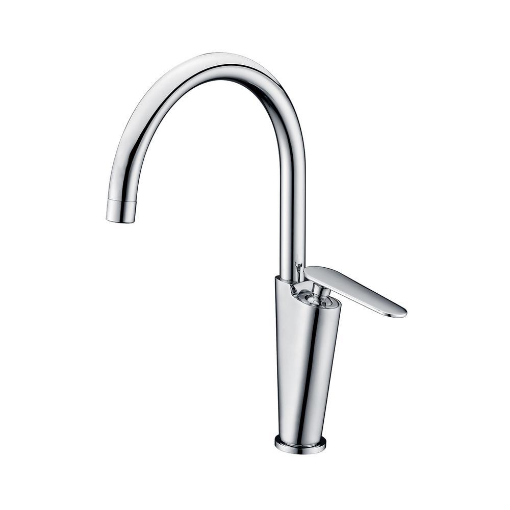 AB3600-PC Single Hole Single-Handle Bathroom Faucet in Polished Chrome
