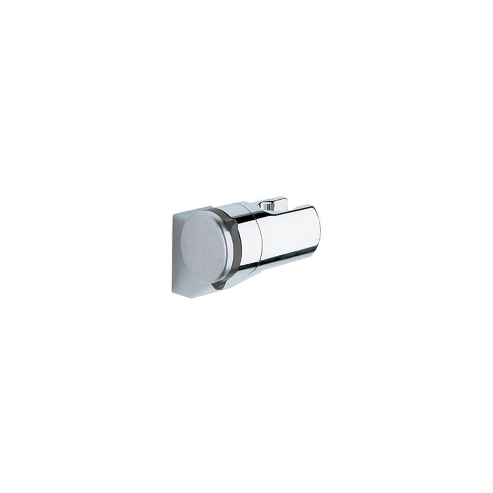Amazing GROHE Relexa Adjustable Wall Mount Hand Shower Holder In StarLight  Chrome 28623000   The Home Depot