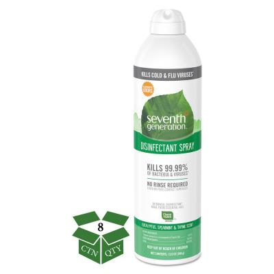 13.9 oz. Eucalyptus/Spearmint/Thyme Disinfectant Aerosol Sprays Spray (8-Count)