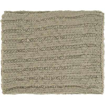 Misti Olive Acrylic Throw
