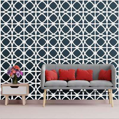 3/8 in. x 23-3/4 in. x 23-3/4 in. Large Fleetwood White Architectural Grade PVC Decorative Wall Panels