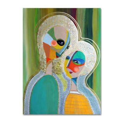 Trademark Fine Art 32 In X 24 In Aura 3 By Sylvie Demers Printed Canvas Wall Art Ali15228 C2432gg The Home Depot