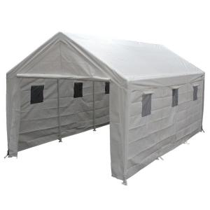 King Canopy Hercules 10 ft. W x 20 ft. D Steel Snow Load Canopy by King Canopy