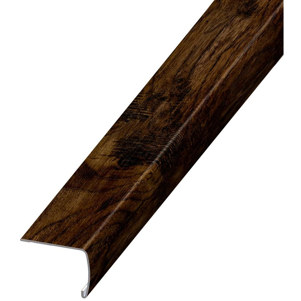 Home Decorators Collection Java Hickory 7 Mm Thick X 2 In. Wide X 94 In